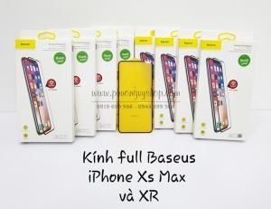Dán cường lực Baseus iPhone Xs Max 0.3mm (full màn hình)